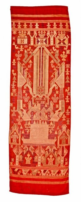 Buddhist door curtain