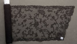 Scarf black lace