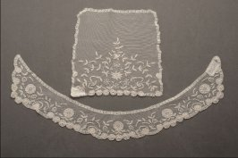 Collar and jabot or vestee