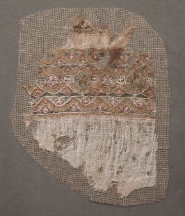 Fragment, probably from a garment
