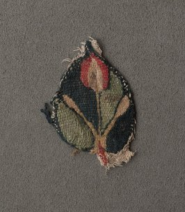 Fragment of a garment or a hanging