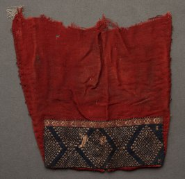 Partial tunic sleeve with applied band