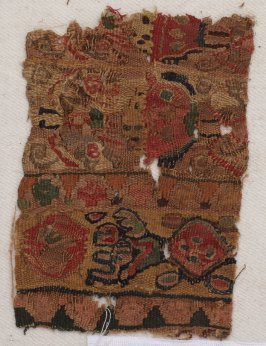 Fragment, probably of a garment