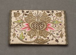 Embroidered cardcase or wallet