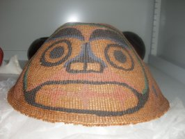 Painted basketry Hat