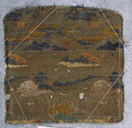Textile fragment, possibly haori lining