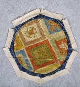 Embroidered roundel