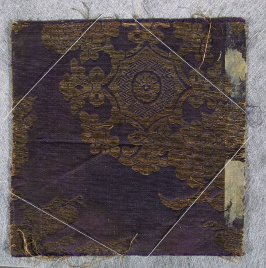 Textile fragment, kesa or temple furnishing