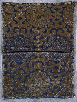 Textile fragment from a kesa or temple furnishing