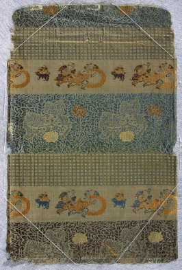 Textile fragment, possibly from the lining of a haori