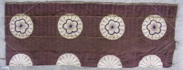 Textile fragment, from kesa or obi