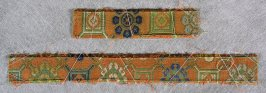 Textile fragments from kesa or temple furnishings