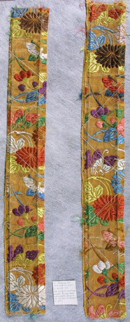 Textile fragment from a Noh costume