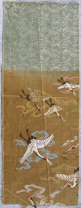 Textile fragment from uchikake
