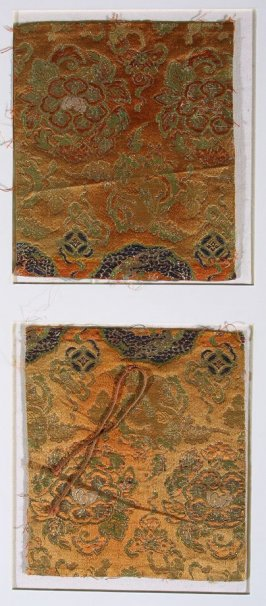 Brocade fragments
