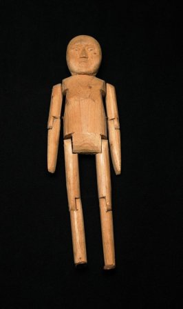 Articulated Wooden Figure