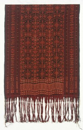 Man's ceremonial shoulder cloth (semba)