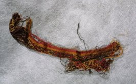 Textile fragment (in pieces)