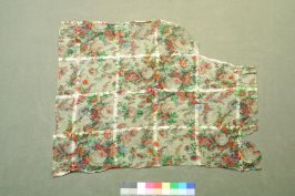 One of 50 dress fragments: of silk, cotton etc.