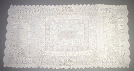 Tablecloth with cutwork