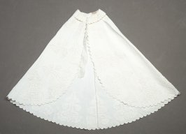 Infant's carriage undercape(with overcape, b)