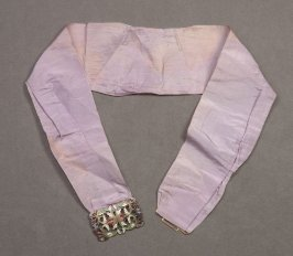 Woman's belt purple