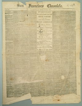 Miniature of San Francisco Chronicle for 8/1/1886
