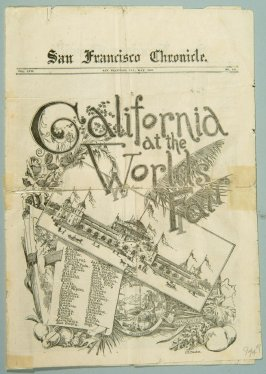 Miniature of San Francisco Chronicle for 5/1893