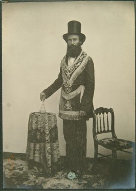 Past Grand Master William H. Howard, pioneer and master mason