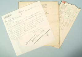 Letter and list of the Committee of One Hundred, composed of pioneers