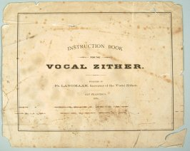 Instruction book for zither (see R787.1)