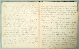 Diary journal of Mr. James Harvey Andrews of Ipswich Mass., covering voyage from Boston to S.F. on ship Chesire, Capt. John W. Dicks