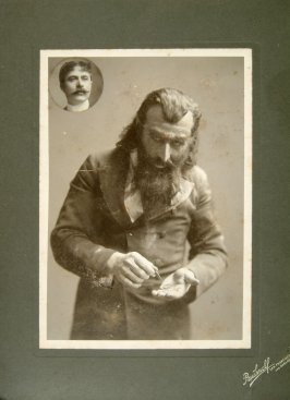 Photograph of James Brophy, leading man in Morosco's Theatre, 1 880-1890
