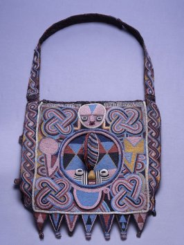 Bag for divination implements (apo ifa)