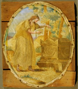 Embroidery: Shakepseare's Tomb