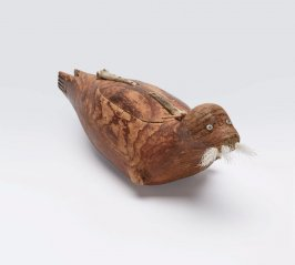 Trinket box in the shape of a seal