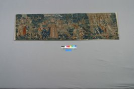 Panel with Biblical scene