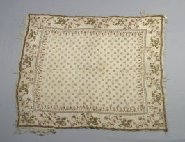 Shawl worn by Elizabeth Elder at her wedding in 1797