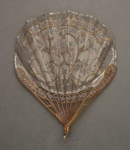 Fan, sequins (with case)