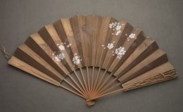 Fan, cherry blossoms