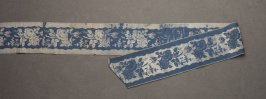 Ribbon blue floral
