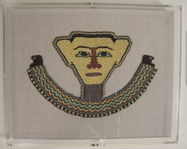 Beaded mummy mask