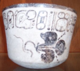 Codex-style Bowl with Fleur-de-Lis design
