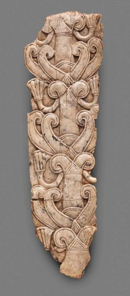 Nimrud Ivory Panel with Stylized Tree