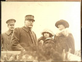 Mrs. Adolph B. Spreckels and Marshal Joffre