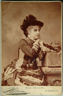 Adelaide Neilson, actress Artist dates: Nationality: Secondary Maker: Donor No: 3376 Name: Mrs. Charles L. Wines