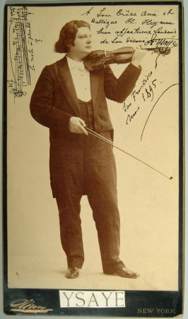 Eugene Ysaye, composer and violinist