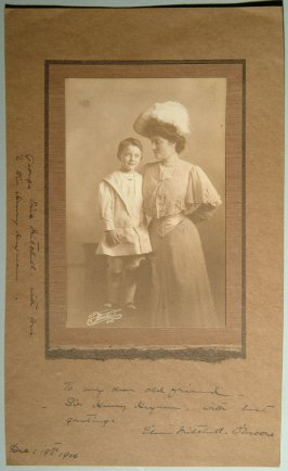 Eileen Mitchell O'Moore, violinist and George E. Mitchell