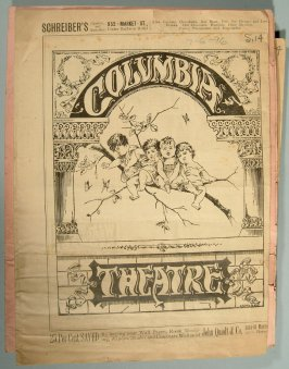 Group of early San Francisco theatre programs