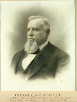 Portrait of Charles Crocker